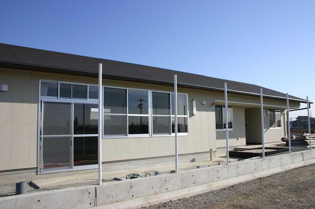 梨の里児童クラブ施設建設主体工事