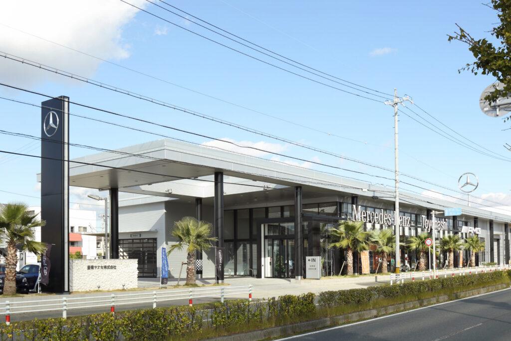 メルセデス・ベンツ豊橋様ショールーム併設新社屋建設工事